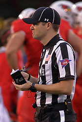 NORMAL, IL - September 08: Nick Brigati during 107th Mid-America Classic college football game between the ISU (Illinois State University) Redbirds and the Eastern Illinois Panthers on September 08 2018 at Hancock Stadium in Normal, IL. (Photo by Alan Look)