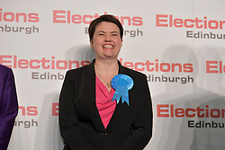 SCOTTISH PARLIAMENTARY ELECTION 2016 – Ruth Davidson, Scottish Conservative and Unionist Party Winning theCentral Area at the Scottish Parliament Elections, at the Royal Highland Centre, <br />(c) Brian Anderson | Edinburgh Elite media