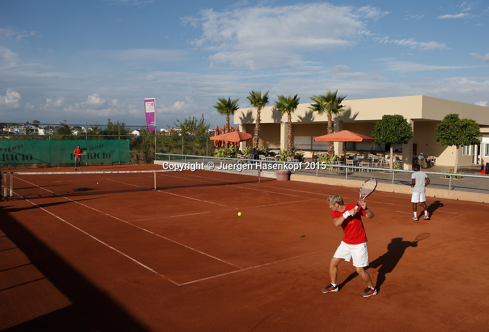 mybigpoint LK Tenniscamp im Ali Bey Resort, Side.<br /> travel -  -  -  Ali Bey Resort Side - Side - Antalya - Tuerkei  - 28 September 2015. <br /> &copy; Juergen Hasenkopf