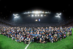 28-05-2016 ITA, UEFA CL Final, Atletico Madrid - Real Madrid, Milaan<br /> Photographers during the medal ceremony after the football match between Real Madrid (ESP) and Atlético de Madrid (ESP) <br /> <br /> ***NETHERLANDS ONLY***