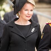 LUX/Luxemburg/20190504 - Funeral of HRH Grand Duke Jean/Uitvaart Groothertog Jean, Koningin Mathilde