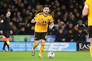Wolverhampton Wanderers midfielder Ruben Neves (8) during the The FA Cup match between Wolverhampton Wanderers and Manchester United at Molineux, Wolverhampton, England on 16 March 2019.