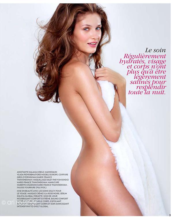 MARIE CLAIRE FRANCE<br /> Model: Vlada Podverbnaya @ Ford models Europe<br /> Stylist: Kalama M'bele (marie claire)<br /> Hair: Greg Everingham @ Marie France Thavonekham<br /> Make-up: Yumi Endo @ Marie France Thavonekham<br /> Manucure: Huberte C&eacute;sarion @ Marie France Thavonekham