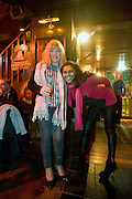 EXCLUSIVE<br /> Brazilian prostitute dances with  Kellie Maloney, former Frank maloney boxing promoter celebrates, its sixty-second birthday at The Irish Pub in Vilamoura Marina, Portugal.<br />  Maloney was better known for being the manager of Boxing Champion Lennox Lewis, Kellie Maloney as she is now known will have her Gender operation in Feb.<br /> ©Exclusivepix Media