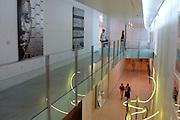 Spanien Spain,Mallorca Balearen....Palma de Mallorca....Museum der modernen Kunst Es Baluard, innen....museum of modern art Es Baluard, interior........