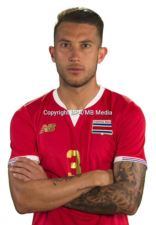 Football Conmebol_Concacaf - <br />Copa America Centenario Usa 2016 - <br />Costa Rica National Team - Group A - <br />Francisco Calvo