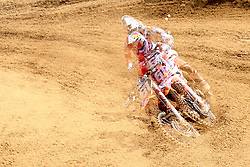 June 17, 2018 - Ottobiano, Lombardia, Italy - Jorge Prado of Red Bull KTM Factory Racing team during the Fiat Professional MXGP of Lombardia race, category MX2, at Ottobiano Motorsport circuit on June 17, 2018 in Ottobiano (PV), Italy. (Credit Image: © Massimiliano Ferraro/NurPhoto via ZUMA Press)