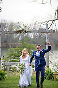 Annapolis, Maryland - April 18, 2015: Stephanie Shearer Cate and Winston Bao Lord wed at their friends Jeff and Marry Zients' house in Annapolis, Maryland Saturday April 18, 2015. <br /> <br /> <br /> <br /> CREDIT: Matt Roth for The New York Times<br /> Assignment ID: 30173318A
