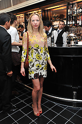 NATALIE PRESS at a brunch hosted by Zac Posen to launch the Belvedere Bloody Mary Brunch held at Le Caprice, 25 Arlington Street, London on 7th April 2011.