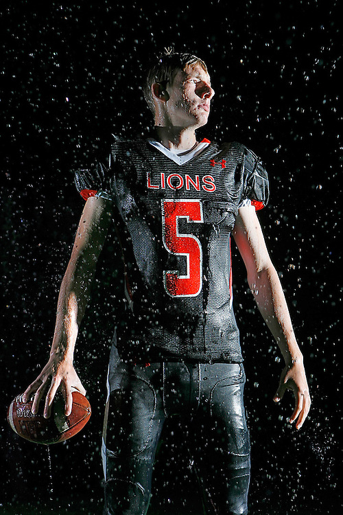 Kennewick quarterback Bryce Leavitt will have to stay cool in the storm of questions about how the Lions will perform after star quarterback Drew Loftus graduated last year.
