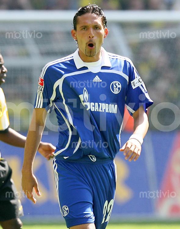 Fussball   1. Bundesliga   Saison 2006/2007   33. Spieltag Borussia Dortmund - FC Schalke 04             Kevin KURANYI (Schalke) enttaeuscht