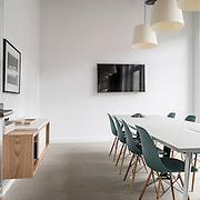 Sleek, London office interior photography location shoot.