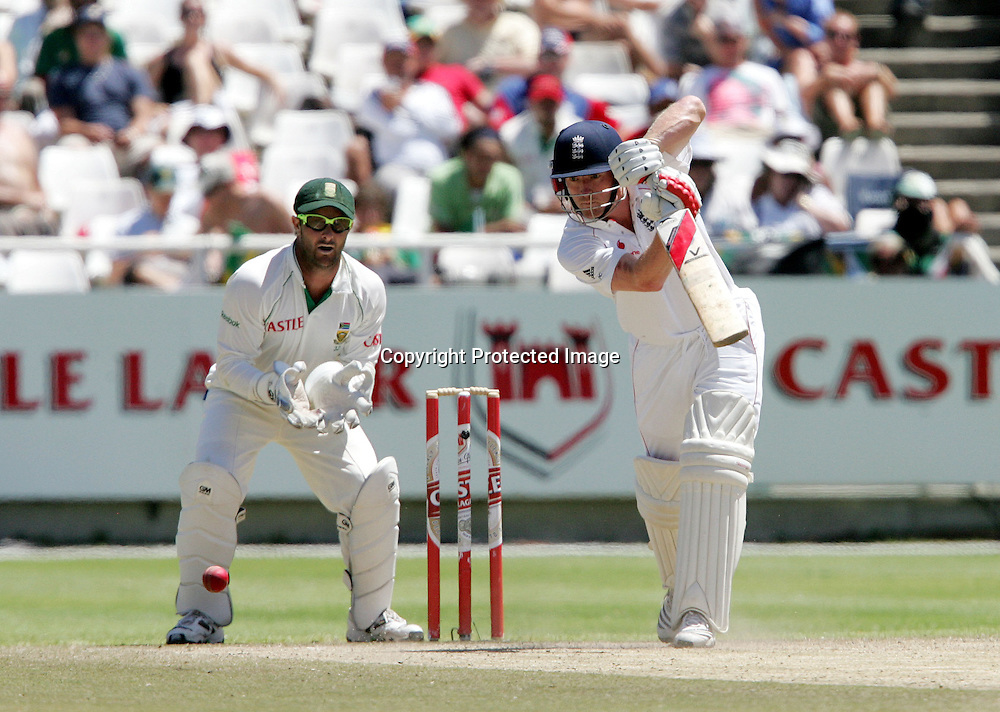 Ian Bell during the 5th day of the third test match between South Africa and England held at Newlands Cricket Ground in Cape Town on the 7h January 2010.Photo by: Ron Gaunt/ SPORTZPICS