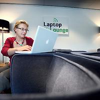 Nederland, Amsterdam , 26 oktober 2010..Marijke Krabbenbos, zzp-er in het ontwikkelen van concepten en producten en bedenker van o.a. de Laptop Lounge in hotel Casa 400..Foto:Jean-Pierre Jans