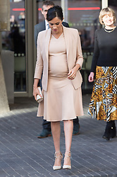 © Licensed to London News Pictures. 30/01/2019. London, UK. The Duchess of Sussex leaves the National Theatre after being appointed its Patron. Photo credit: Ray Tang/LNP