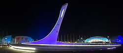 23.02.2014, Olympiapark, Adler, RUS, Sochi 2014, Abschlussfeier, im Bild // during the closing Ceremony of the Olympic Winter Games Sochi 2014 at the Olypic Park in Adler, Russia on 2014/02/23. EXPA Pictures © 2014, PhotoCredit: EXPA/ Johann Groder