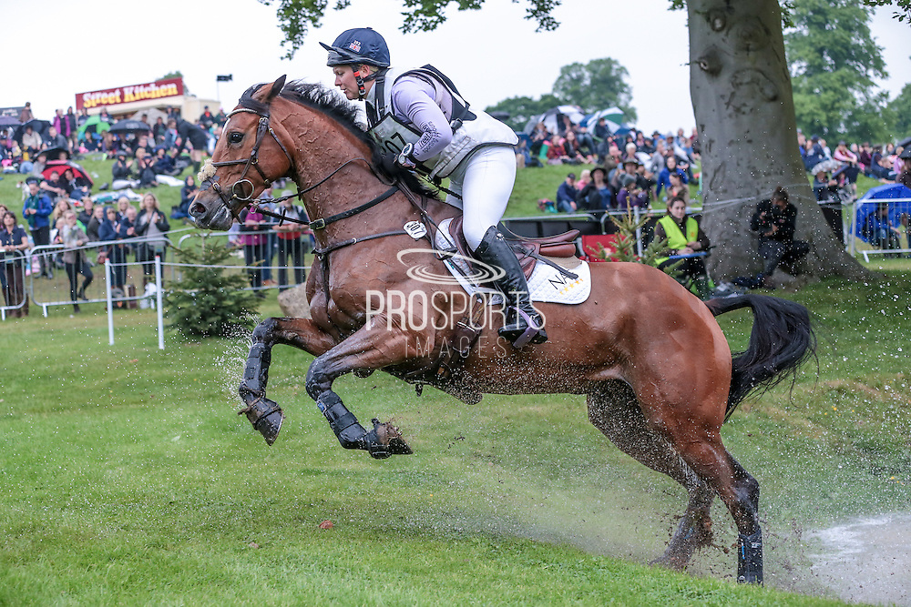SANTIAGO BAY ridden by Gemma Tattersall at Bramham International Horse Trials 2016 at  at Bramham Park, Bramham, United Kingdom on 11 June 2016. Photo by Mark P Doherty.