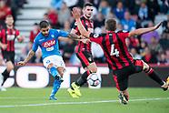 Bournemouth v Napoli - PSF