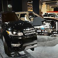 Range Rover Sport Hybrid at the IAA 2013, Frankfurt, Germany