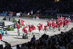 Openingceremony: Team Canada<br /> World Equestrian Games Lexington - Kentucky 2010<br /> © Dirk Caremans