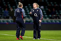 Danielle Waterman of England - Mandatory by-line: Robbie Stephenson/JMP - 04/02/2017 - RUGBY - Twickenham - London, England - England v France - Women's Six Nations