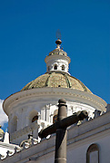 Dome of the Church of the Society of Jesus (17th Century) / Quito,Ecuador,South America