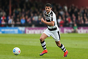 Forest Green Rovers Omar Bugiel(11) runs forward during the Vanarama National League match between York City and Forest Green Rovers at Bootham Crescent, York, England on 29 April 2017. Photo by Shane Healey.