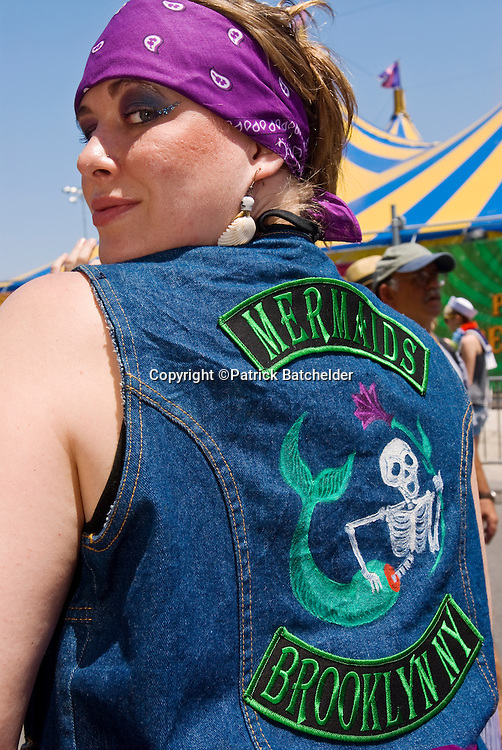 The Mermaid Parade in Coney Island, Brooklyn, New York City, celebrates mermaids, pirates and more every June.