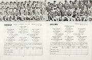All Ireland Senior Hurling Championship Final,<br /> 06.09.1970, 09.06.1970, 6th September 1970,<br /> Minor Cork v Galway, <br /> Senior Cork v Wexford,  Cork 6-21 Wexford 5-10,<br /> <br /> Cork, D O Brien, Blarney, B Murphy, Nemo Rangers, L Kelly, Bandon, M Corbett, Glen Rovers, V Toomey, Na Piarsaigh, M Doherty, Glen Rovers, J Buckley, Newtownseandrom, N Crowley, Bandon, P Kavanagh, Blackrock, G Hanley, Shamrocks, S O Farrell, Midleton, T Sheehan, Mallow, D Relihan, Castletownroche, T Crowley, Newcestown, S O Leary, Eochaill, <br /> <br /> Galway, E Campbell, Kiltormer, S Cloonan, Pearses, K Maher, Loughrea, S Fahy, Tommy Larkins, S Clarke, Mullagh, A Fenton, Kiltormer, S Healy, Craughwell, S Donoghue, Tommy Larkins, S Hynes, Athenry, M Donoghue, Killimordaly, J McDonagh, Ballindereen, D Campbell, Kiltormer, P J Molloy, Athenry, E Fitzgerald, Loughrea. T Holland, Turloughmore,