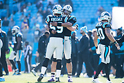December 10, 2017: Minnesota vs Carolina. Luke Kuechly, Cam Newton