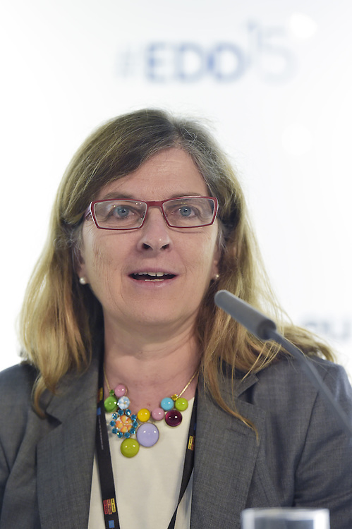 03 June 2015 - Belgium - Brussels - European Development Days - EDD - Financing - Financing sustainable development - Addressing vulnerabilities - Giorgia Giovannetti , Professor, University of Florence© European Union