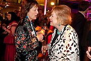 RACHEL BILLINGTON; LADY ANTONIA PINTER, Orion Authors' Party,  Royal Opera House, Covent Garden, London. 15 February 2011. <br /> -DO NOT ARCHIVE-© Copyright Photograph by Dafydd Jones. 248 Clapham Rd. London SW9 0PZ. Tel 0207 820 0771. www.dafjones.com.
