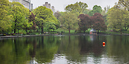 The Conservatory Water, aka The Sailboat Pond, in Central Park.