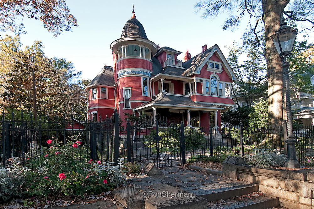 "The Beath-Dickey House (1890) is a Queen Anne Victorian house located on Euclid Avenue in the Inman Park neighborhood of Atlanta, Georgia. It was one of the houses of note when the Inman Park - Atlanta's first streetcar suburb - was established. John M. Beath was an ""ice magnate"", owner of the Georgia Ice Company on Alabama St. During the 1910s and 1920s the John R. Dickeys lived in the house which in the numbering at the time was 38 Euclid Avenue. Dickey was an officer of the Guarantee Trust and Banking Company."