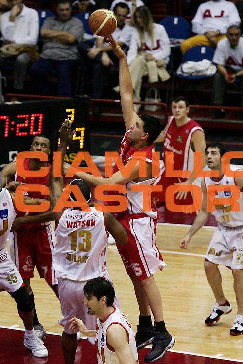 DESCRIZIONE : Milano Lega A1 2006-07 Playoff Quarti di Finale Gara 1 Armani Jeans Milano Whirlpool Varese<br /> GIOCATORE : Gabriel Fernandez<br /> SQUADRA : Whirlpool Varese<br /> EVENTO : Campionato Lega A1 2006-2007 Playoff Quarti di Finale Gara 1<br /> GARA : Armani Jeans Milano Whirlpool Varese<br /> DATA : 16/05/2007<br /> CATEGORIA : Tiro<br /> SPORT : Pallacanestro<br /> AUTORE : Agenzia Ciamillo-Castoria/L.Lussoso