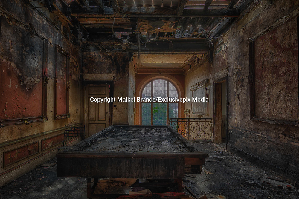 Stunning images of once grand Mansion in one of the most beautiful villages  in Italy now Abandoned after cannabis fire<br /><br />What do you do when have a big luxurious mansion and you try to make ends meet? An electric short caused a huge fire that has ravaged one of the most beautiful villas in Italy,.  a ... plantation of cannabis! was to blame. This magnificent manor dating from the beginning of the last century left in smoke All that remains today are the walls.<br /><br />To the astonishment of local police at the time of the fire, when they realized that this beautiful building, built in one of the most chic quarters of Italy, actually housed a vulgar plantation of cannabis. around 500 plants.<br />©Maikel Brands/Exclusivepix Media