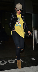Rita Ora arriving at Heathrow airport in London, UK. 07/10/2015<br />BYLINE MUST READ : GOTCHAIMAGES.COM<br /><br />Copyright by © Gotcha Images Ltd. All rights reserved.<br />Usage of this image is conditional upon the acceptance <br />of Gotcha Images Ltd, terms and conditions available at<br />www.gotchaimages.com