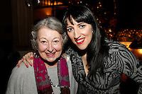 Nancy Jarrett and Jennifer Toffey, Nordoff Robbins Carol Service  2011 sponsored by Coutts. London..Wednesday, 14. Dec 2011