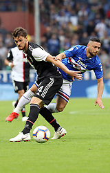 26.05.2019, Stadio Luigi Ferraris, Genua, ITA, Serie A, Sampdoria Genoa vs Juventus Turin, 38. Runde, im Bild rugani daniele // rugani daniele during the Seria A 38th round match between Sampdoria Genoa and Juventus Turin at the Stadio Luigi Ferraris in Genua, Italy on 2019/05/26. EXPA Pictures © 2019, PhotoCredit: EXPA/ laPresse/ Tano Pecoraro<br />