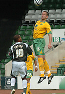 Plymouth -Saturday September 13th 2008:Jermaine Easterof Plymouth Argyle and John Kennedy of Norwich City during the Coca Cola Championship match at Plymouth.(Pic by Tony Carney/Focus Images)