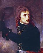 'General Napoleon Bonaparte (1769-1821) at Arcole' 1796.  Napoleon I (1769-1821). (Antoine) Jean Gros (1771-1835) French painter.. Oil on canvas. Louvre, Paris