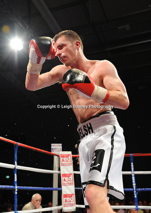 Martin Welsh is defeated by Brian Rose for the English Light Middleweight title at Medway Park, Gillingham, Kent, UK on 13th May 2011. Frank Maloney Promotions. Photo credit © Leigh Dawney 2011.