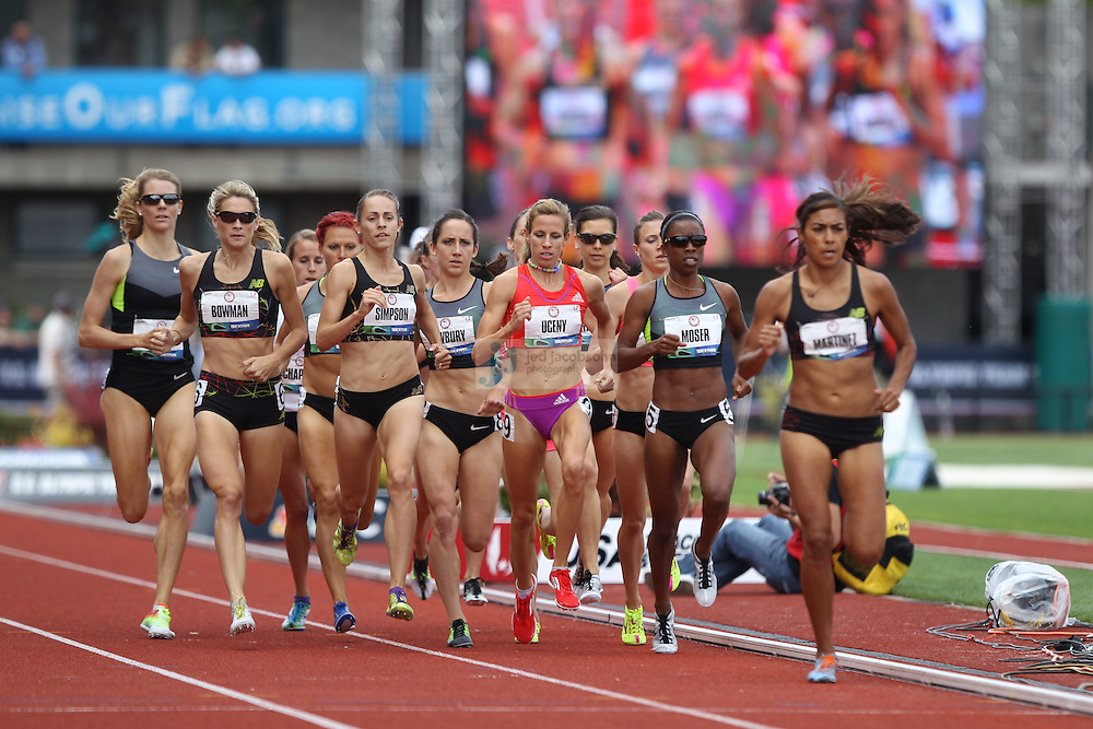 during day 10 of the U.S. Olympic Trials for Track & Field at Hayward Field in Eugene, Oregon, USA 1 Jul 2012..(Jed Jacobsohn/for The New York Times)....