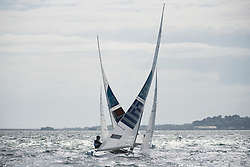 2012 Olympic Games London / Weymouth<br /> <br /> Star practice race<br /> StarNORMelleby Eivind, PEDERSEN Petter Morland<br /> StarGREPapathanasiou Emilios, TZORTZIS ANTONIOS