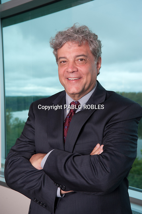 Mark E. Scheinberg, Goodwin College President. Executive, Corporate and CEO Photography done on location using the environment as the background.