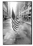 Cuban Independence Day parade, Madison Ave, Manhattan. 10 May 1992. New York. 1992. © Copyright Photograph by Dafydd Jones 66 Stockwell Park Rd. London SW9 0DA Tel 020 7733 0108 www.dafjones.com