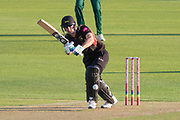 Colin Ackemann batting during the Vitality T20 Blast North Group match between Leicestershire Foxes and Notts Outlaws at the Fischer County Ground, Grace Road, Leicester, United Kingdom on 23 August 2019.