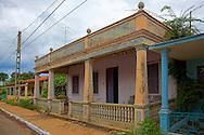 Building in La Palma, Pinar del Rio, Cuba.