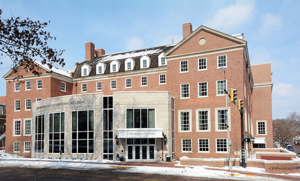 Exterior image of Schoonover Center at Ohio University.