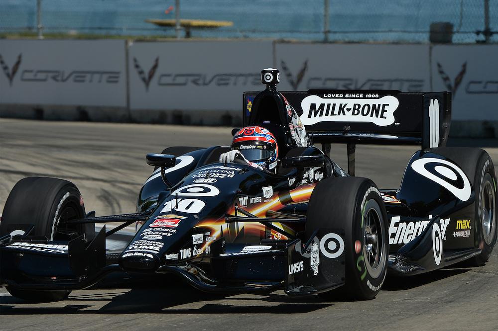 Tony Kanaan, The Raceway at Belle Isle Park, Detroit, MI USA 6/1/2014